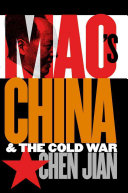 Cover of Mao's China and the Cold War