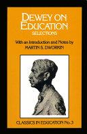 Pdf Dewey on Education Telecharger