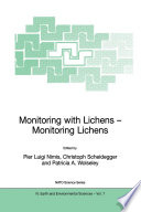 Monitoring with Lichens   Monitoring Lichens
