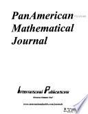 Panamerican Mathematical Journal