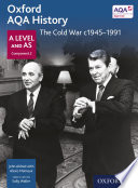 Oxford Aqa History A Level And As Component 2 The Cold War C1945 1991