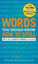 Words You Should Know How to Spell