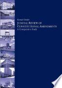 Judicial Review of Constitutional Amendments