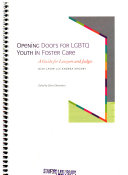 Opening Doors for LGBTQ Youth in Foster Care Book
