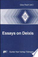 Essays On Deixis