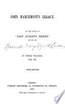 John Marchmont s Legacy