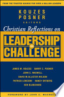 Christian Reflections on The Leadership Challenge Book