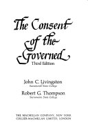 The Consent of the Governed