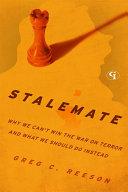 Stalemate Pdf/ePub eBook
