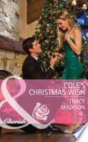 Cole s Christmas Wish  Mills   Boon Cherish   The Colorado Fosters  Book 1