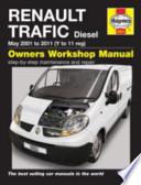 Renault Traffic Van Service and Repair Manual