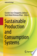 Sustainable Production and Consumption Systems Book