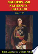 Soldiers And Statesmen  1914 1918