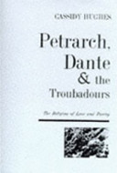 Petrarch, Dante and the Troubadours