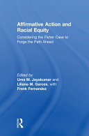 Affirmative Action and Racial Equity Pdf/ePub eBook