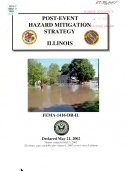 Post Event Hazard Mitigation Strategy