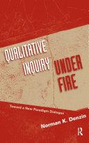 Qualitative Inquiry Under Fire Pdf/ePub eBook
