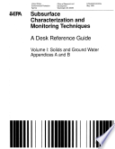 Subsurface Characterization and Monitoring Techniques Book