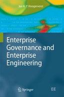 Enterprise Governance and Enterprise Engineering