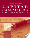 Capital Campaigns  Strategies that Work Book