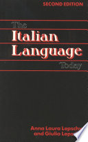 The Italian Language Today