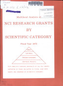 Multilevel Analysis of NCI Research Grants