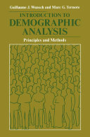 Introduction to Demographic Analysis