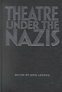 Theatre Under the Nazis ebook