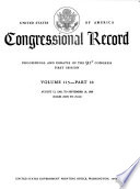"""Congressional Record: Proceedings and Debates of the... Congress"" by United States. Congress"