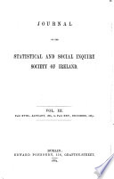 Journal of the Statistical and Social Inquiry Society of Ireland Book PDF