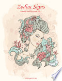 Zodiac Signs Coloring Book For Grown Ups 1