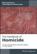 The Handbook?of Homicide