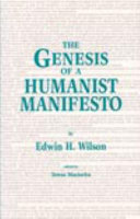 The Genesis of a Humanist Manifesto