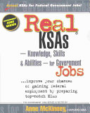 Real KSAs--knowledge, Skills & Abilities--for Government Jobs