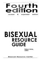 Bisexual Resource Guide Book PDF