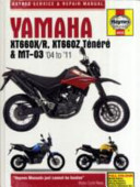 Yamaha XT600 and MT 03 Service and Repair Manual