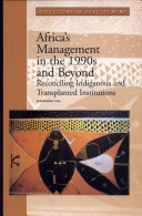 Africa s Management in the 1990s and Beyond