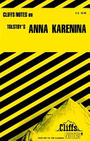 Cliffsnotes On Tolstoy S Anna Karenina Book