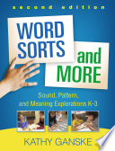 Word Sorts and More  Second Edition Book