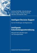 Intelligent Decision Support   Intelligente Entscheidungsunterst  tzung