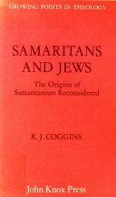 Samaritans and Jews
