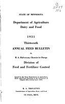 Annual Feed Bulletin