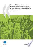 Revue de l'OCDE sur le développement, Volume 9 Numéro 2 Mesurer les droits de l'homme et la gouvernance démocratique : Expériences et enseignements de Métagora