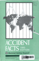 Accident Facts  1993 Book