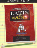 Latin for Children  Primer C Answer Key