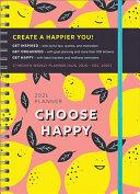 Choose Happy 2021 Planner