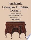 Authentic Georgian Furniture Designs