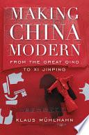 Making China Modern