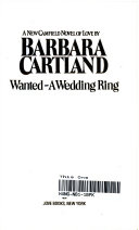 Wanted  a Wedding Ring