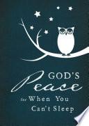 God s Peace When You Can t Sleep